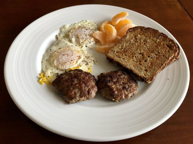 Weekend mornings are the perfect time to indulge in a big breakfast that includes homemade breakfast sausage.