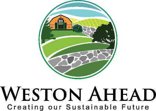 The effort to create Weston's first Climate Action and Resiliency plan is known as Weston Ahead.