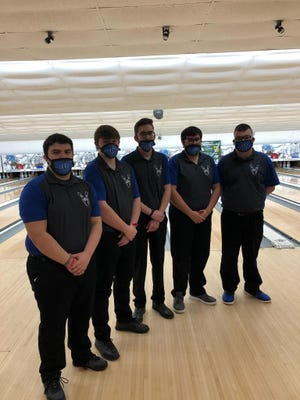 Wynford boys qualified for districts in their first season as a varsity program.