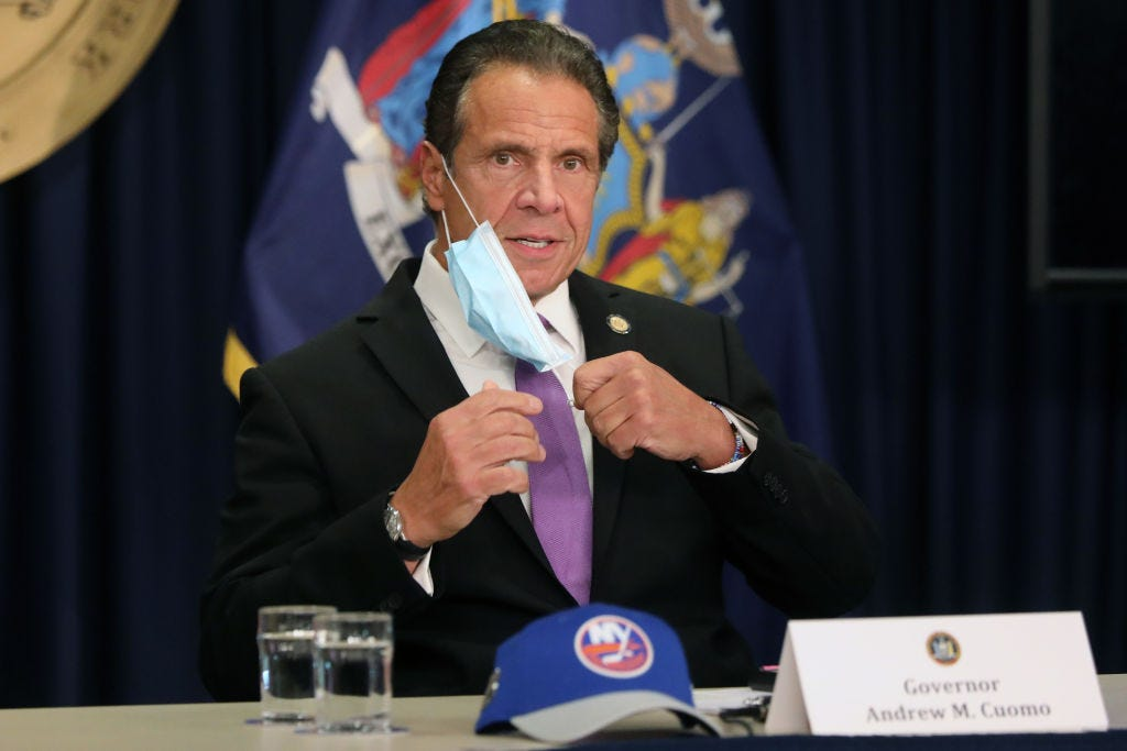 Cuomo: NY should have released care home death data faster 2