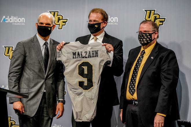 Gus Malzahn introduced as the UCF football coach on Feb. 15, 2021.