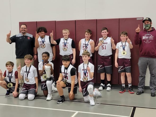 Newark beat Licking Valley to win the fifth-grade title at the Licking County Family YMCA.