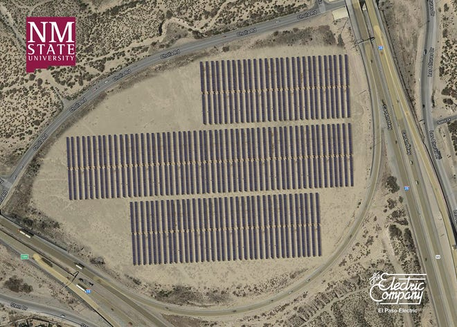El Paso Electric will own, operate, maintain and oversee the development of the three-megawatt solar photovoltaic project on a 29-acre parcel of land on NMSU's Arrowhead Park between Interstate 10 and Interstate 25.