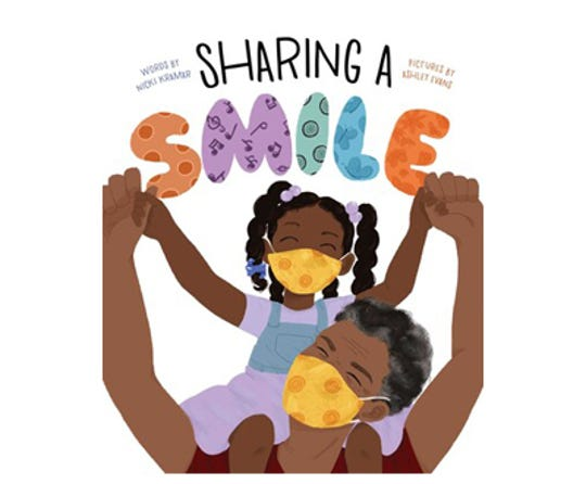 """Sharing a Smile"" by Nicki Kramar, illustrated by Ashley Evans"