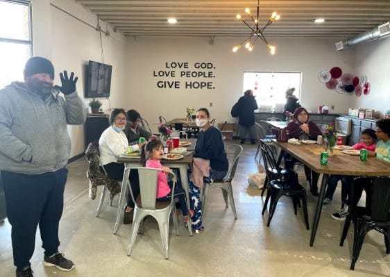 City Hope Church has opened its doors to function as a warming center for anyone without power as shown in this Feb. 15, 2021, file photo.