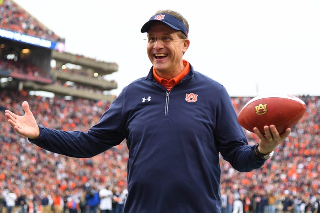 Gus Malzahn led Auburn to a 68-35 record in eight seasons before getting fired in December.