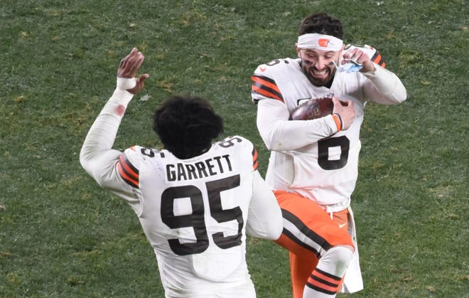 Myles Garrett and  Baker Mayfield have Browns fans feeling optimistic about the team's future.