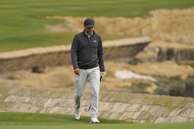 Jordan Spieth, who walks up to the 18th green of the Pebble Beach Golf Links during the final round of the Pebble Beach Pro-Am earlier this month, has committed to play again in the WGC-Dell Match Play at Austin Country Club.