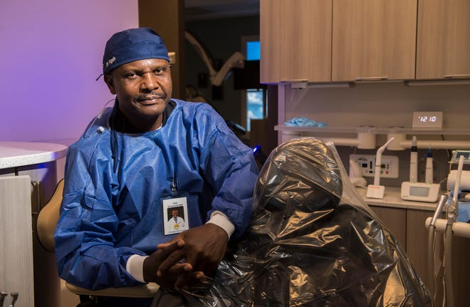 Dr. Emmanuel Ngoh, owner of the Augusta Endodontic Center, said he has seen an uptick in stress-related oral issues due to an increase in stress caused by the pandemic.