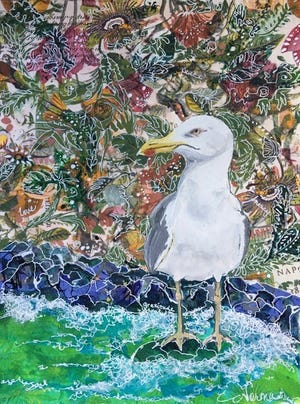 'Gull,' by Norma Cherry