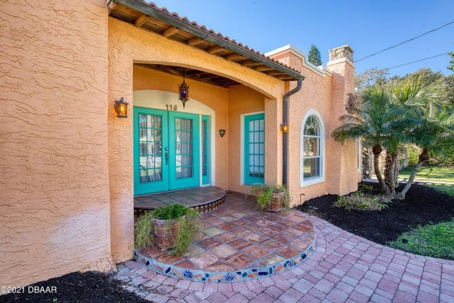 This gorgeous Spanish-style home is steps away from the ocean and minutes away from Ormond Beach's great restaurants and shopping.