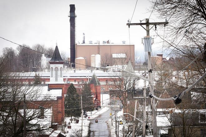 Negotiations are continuing between the United Mine Workers of America and Roundhill Group LLC, the new owners of Ilion's Remington plant. A view of the Remington Arms factory from the top of Second Street in Ilion. UMWA Local 717 represents Remington employees.