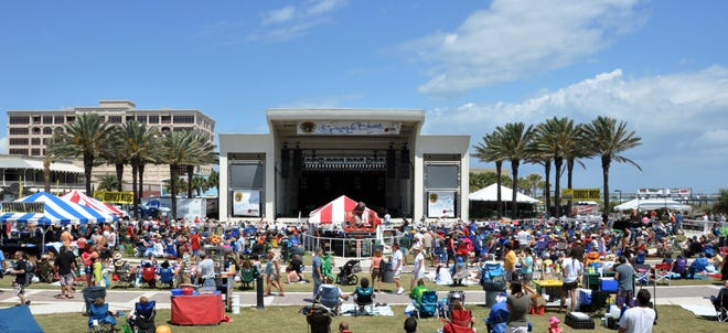 Springing the Blues, scheduled for April 9-11 at Seawalk Pavilion in Jacksonville Beach, has been canceled.