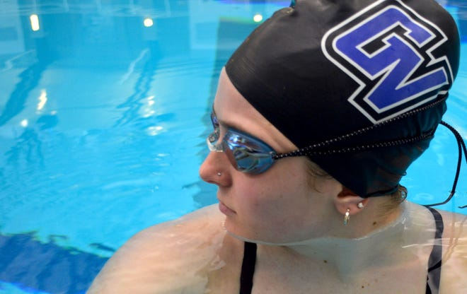 GVSU's Claire Meeuwsen is looking for a strong performance at the GLIAC Championships this week.