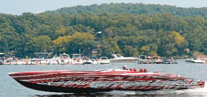 Lake Race participant.