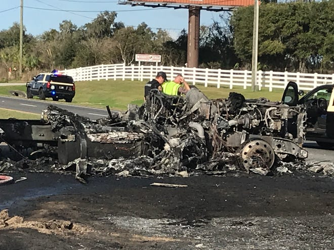 This was the scene at a mid-January fatal crash on U.S. 441 north of Ocala. The number of traffic deaths in Marion County increased in 2020 compared with 2019.