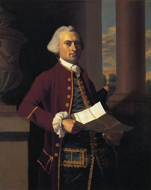 Woodbury Langdon (1739-1805) was a Portsmouth, NH merchant, judge and statesman who was impeached by the NH House in 1790 for failure to do his duty as a justice of the NH Superior Court.
