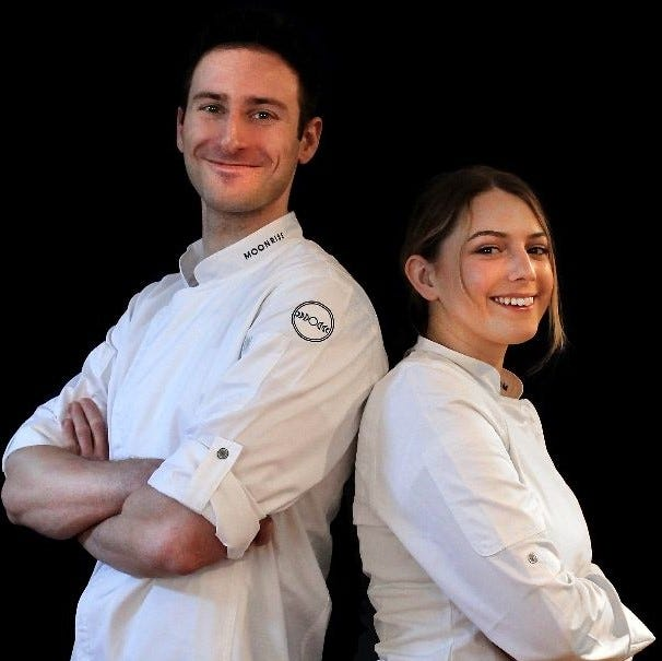 Andrew Bergman and Morgan Leet combined their culinary skills to form Moonrise Croissanterie, which they run out of their Brentwood home.