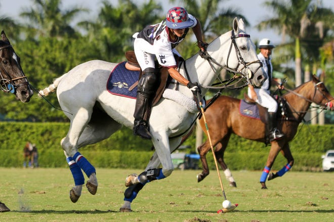 Timmy Dutta, shown competing during a polo match last year, will be on the Aspen-Dutta Corp team for this year's Gauntlet of Polo competition.
