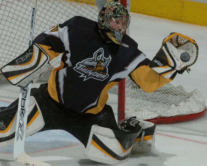 Devan Dubnyk played goalie for the Stockton Thunder of the ECHL during the 2006-07 season and went on to have a successful NHL career.