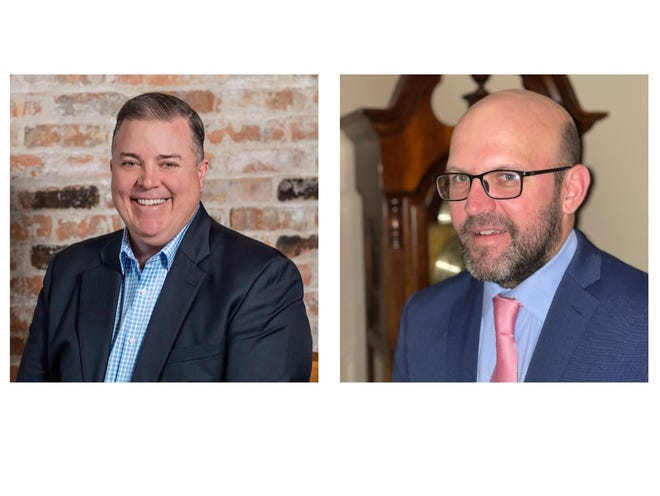 Candidates Robert A. Walsh and Mark Yone are vying on the Feb. 23 primary ballot for the Republican nomination to represent Rockford's 12th Ward.