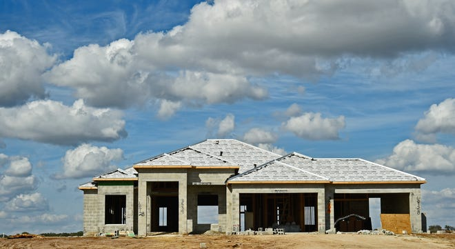 Construction of Sarasota's Hampton Lakes Medallion Home community, located east of I-75 off Fruitville Road, is in its final phase with 3- to 8-acre home sites.