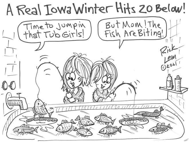 Rick Lem's cartoon.