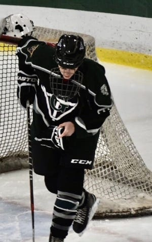 Mathieu Legault has been a key performer for the Grafton hockey team this winter.