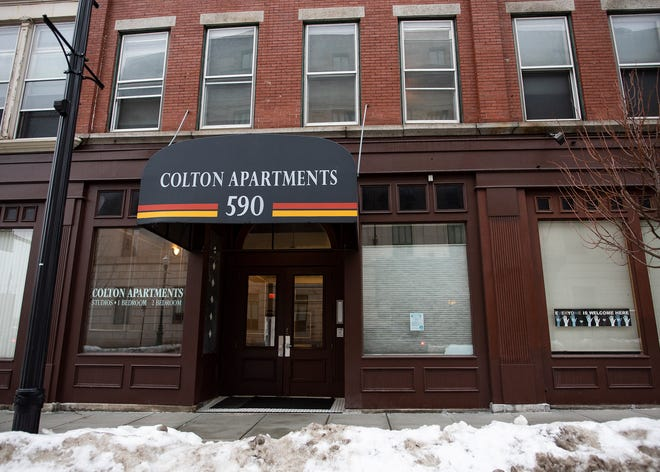 Colton Arms apartments at 590 Main St.
