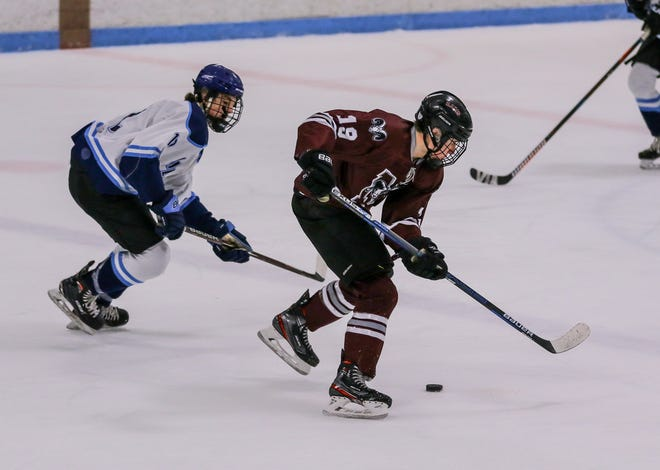 Ryan Couture, right, has been the leader for Northbridge this season.