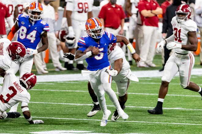 Florida's focus during spring practice will be the development of quarterback Emory Jones and the other young players.