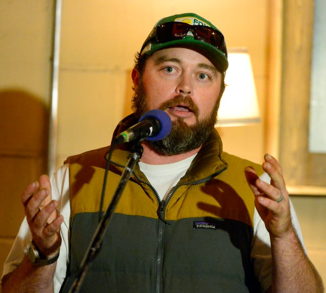 Gadsden City Council member Jason Wilson is pictured in a file photo.