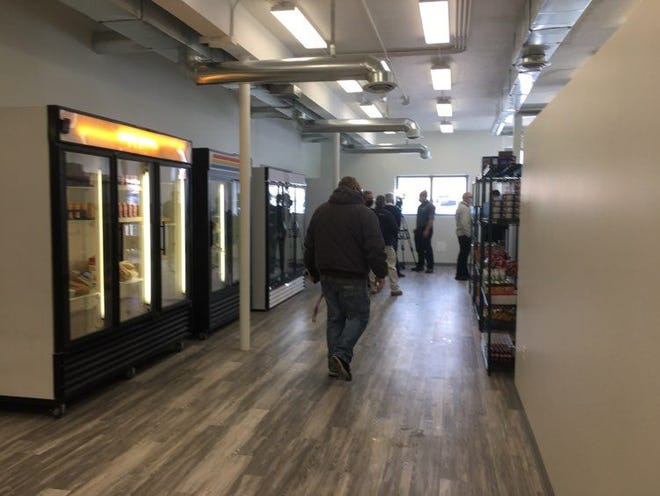 Inside the new Sunny Side Market, located at 1230 E. Eighth St., there are handfuls of refrigerators as well as many shelves for non-refrigerated foods. The market was created and opened by Care and Share to help battle food insecurity issues on Pueblo's East Side.