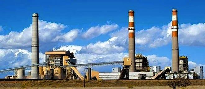 Xcel Energy's Comanche Station South of Pueblo.