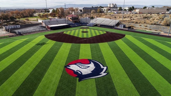 Renovated Rawlings Field on the CSU Pueblo campus