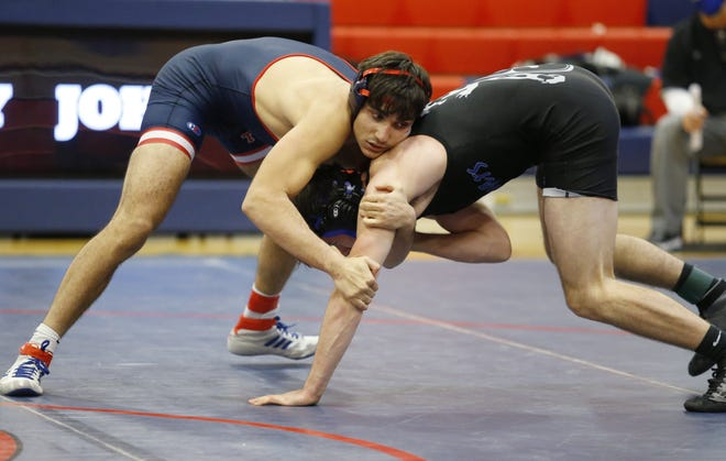 Majed Ahmad and Thomas will compete in a Division I sectional Feb. 27at Upper Arlington. The top four finishers in each weight class advance to district March 6 and 7 at Hilliard Darby.