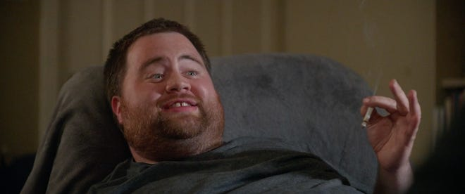 """Actor Paul Walter Hauser in a scene from """"Silk Road,"""" a drama about the illegal drug trade on the darknet."""