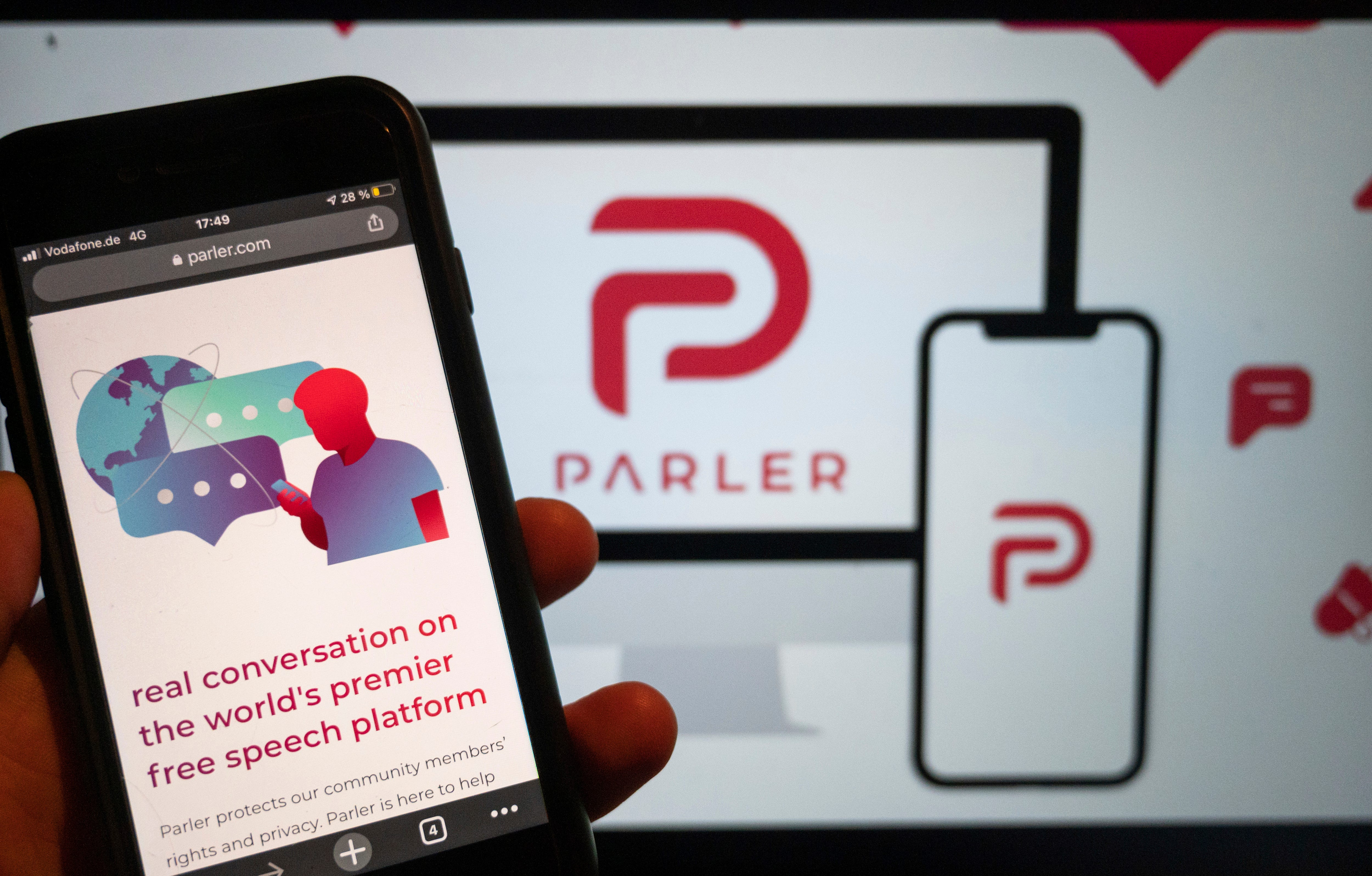 Right-wing friendly social network Parler announces relaunch 2