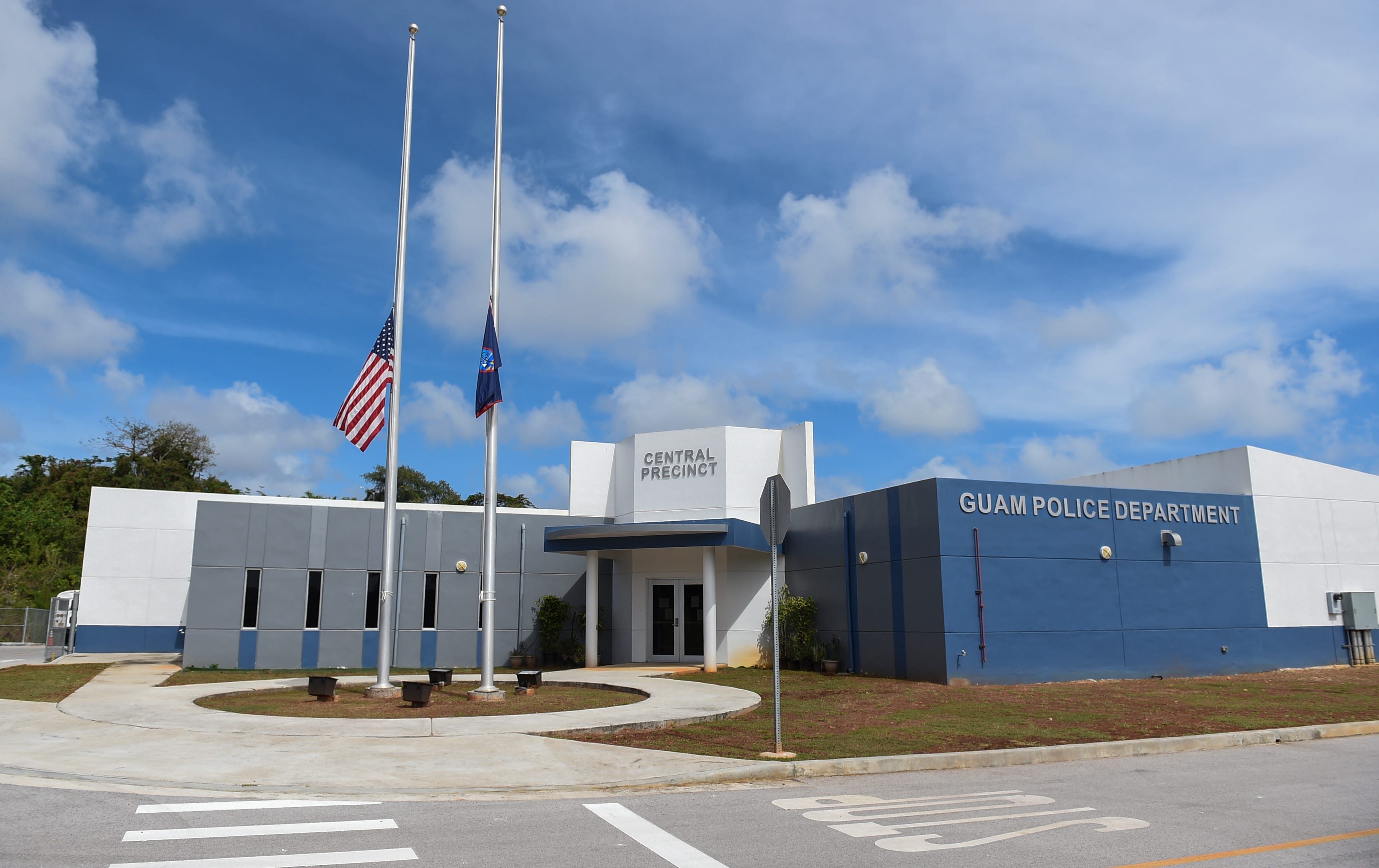 The Guam Police Department Central Precinct Command in Sinajana, Feb. 16, 2021.