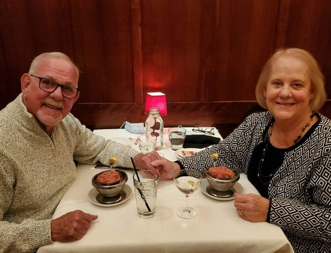 After 50 years apart, Joe and Donna Cougill are back together.