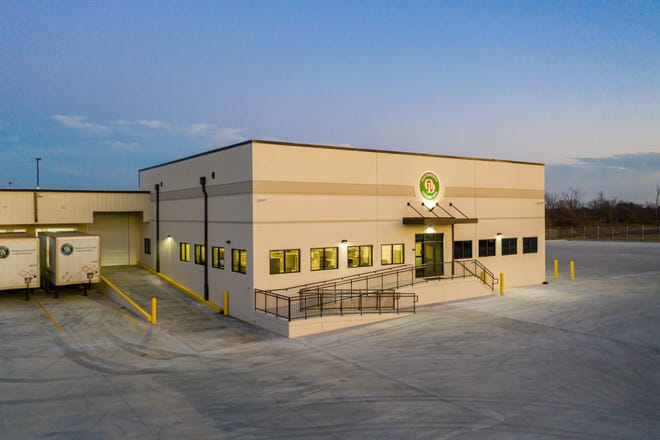 Old Dominion Freight Line opens service center at 2101 Airport West Road in November 2020.