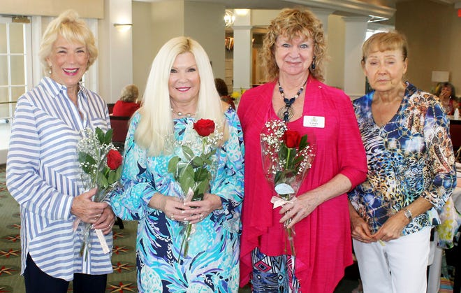 February birthday ladies are Lithia Berger, Yolanda Medwid, Cindy Crane and Patty Terreri.