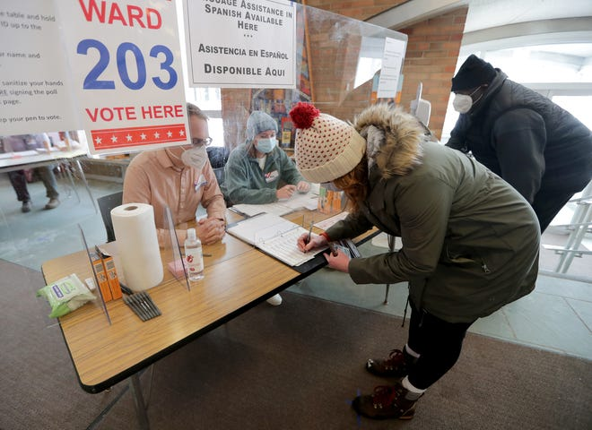Republican-led bills on voting are moving through the state Legislature. Clerks say some of the proposed provisions would increase their already heavy workload.