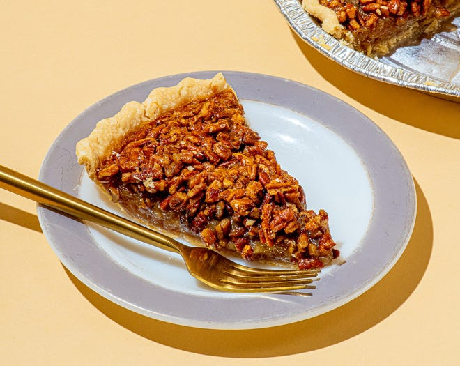 Commander's Palace in New Orleans ships its famous dishes, including pecan pie, nationwide through the site Goldbelly.