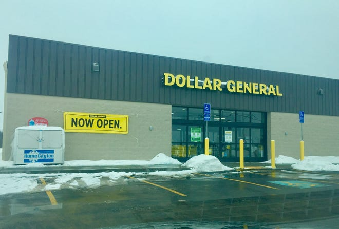 The new Pataskala-area Dollar General is located on Ohio 40, across the National Road from the still-under-construction new Watkins High School site.