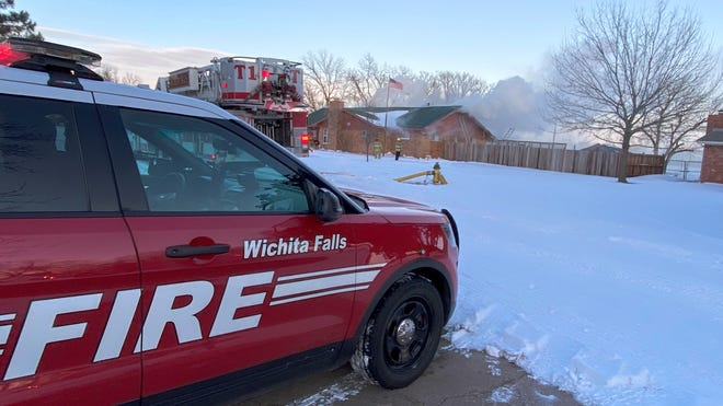 First responders have been busy with calls related to snow and frigid weather. The cold snap has claimed at least one life in Wichita Falls.