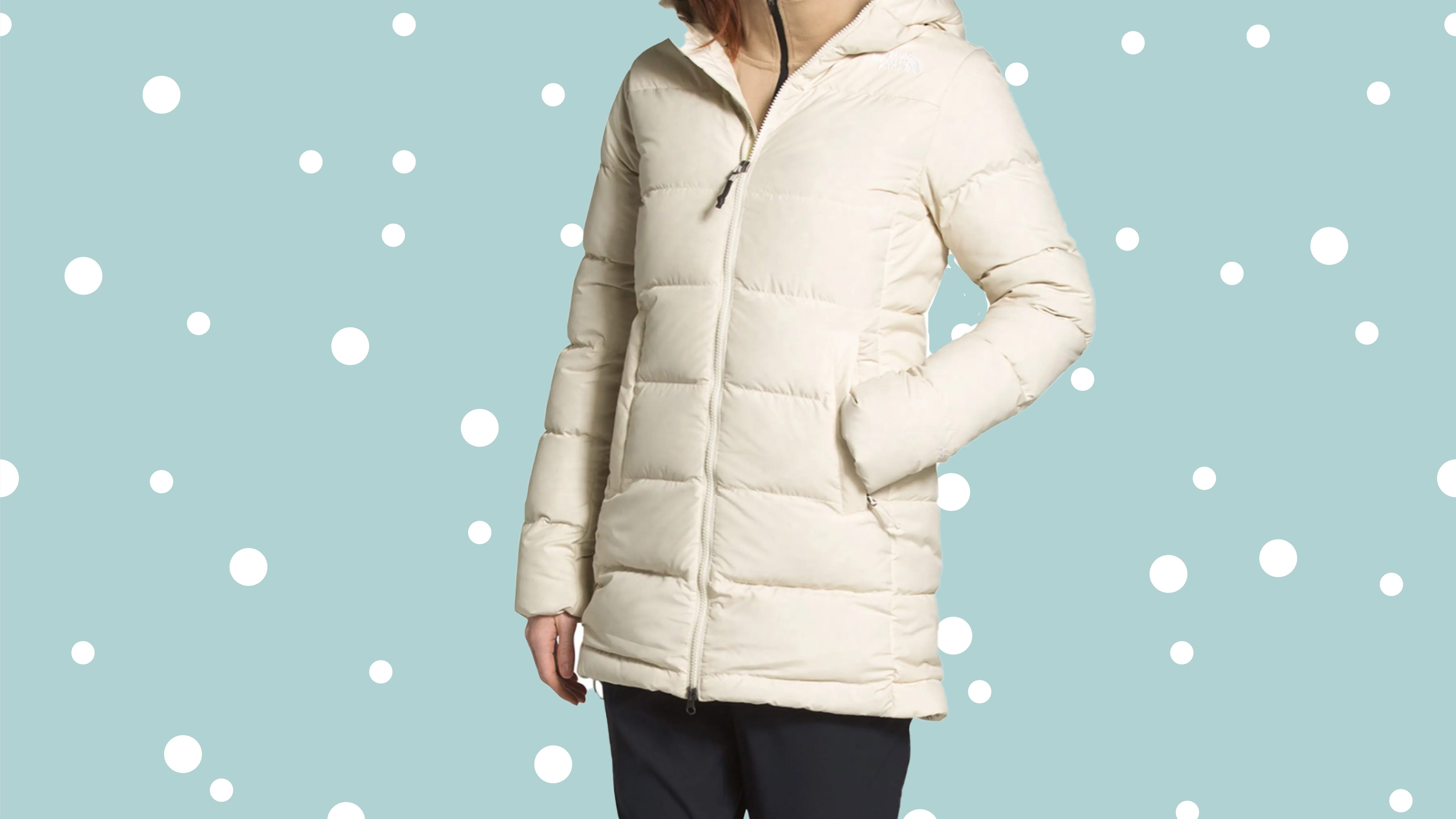 The North Face coats and jackets are up to 50% off at Nordstrom's winter sale