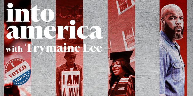 """""""Into America"""" digs into what it means to beBlack in America and has featured stories aboutinequality and the pandemic, to the racial reckoning over George Floyd's death and more."""