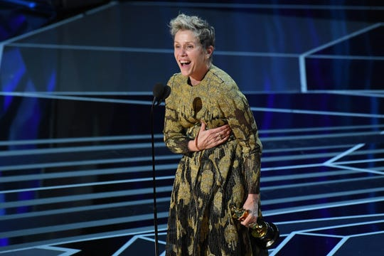 """Frances McDormand, 2018'de ikinci En İyi Kadın Oyuncu Oscar'ını onun için kazandı """"Missouri, Ebbing'in dışında üç reklam panosu."""""""