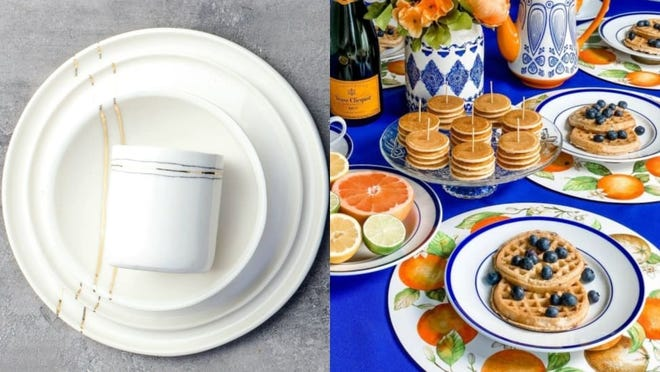 These bowls and plates will upgrade any meal.